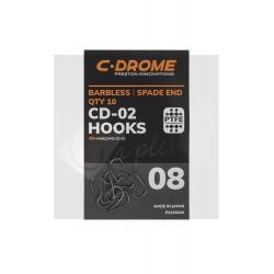 CD-02 - Hameçons sans ardillons téflonné
