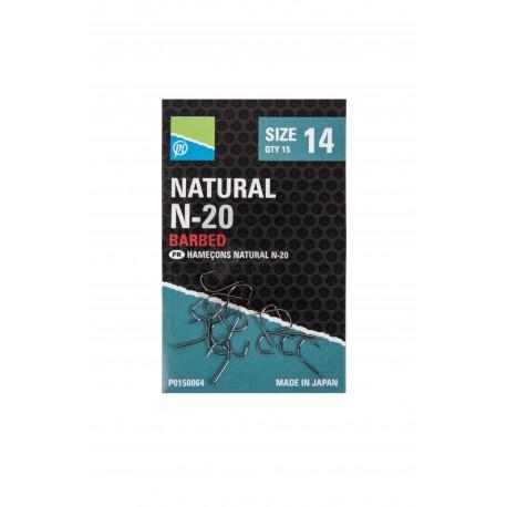 Hameçon Natural N20 à ardillons