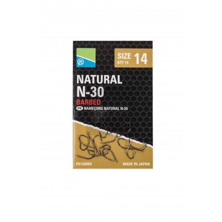Hameçon Natural N30 à ardillons